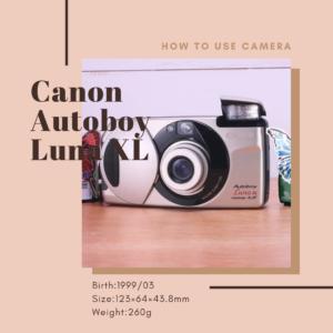 Canon Autoboy Luna XL