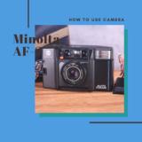 Minolta AF-S の使い方
