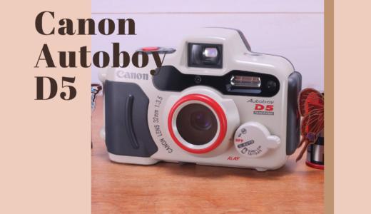 Canon Autoboy D5 の使い方