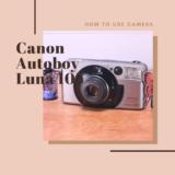 canon autoboy luna 105