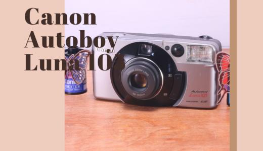 Canon Autoboy Luna 105 の使い方