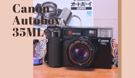 Canon AF 35ML の使い方