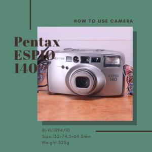 pentax espio 140
