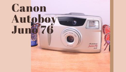 Canon Autoboy JUNO 76 の使い方