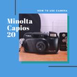 Minolta Capios 20 の使い方