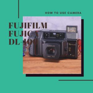 FUJIFILM TELE CARDIA SUPER DATE の使い方
