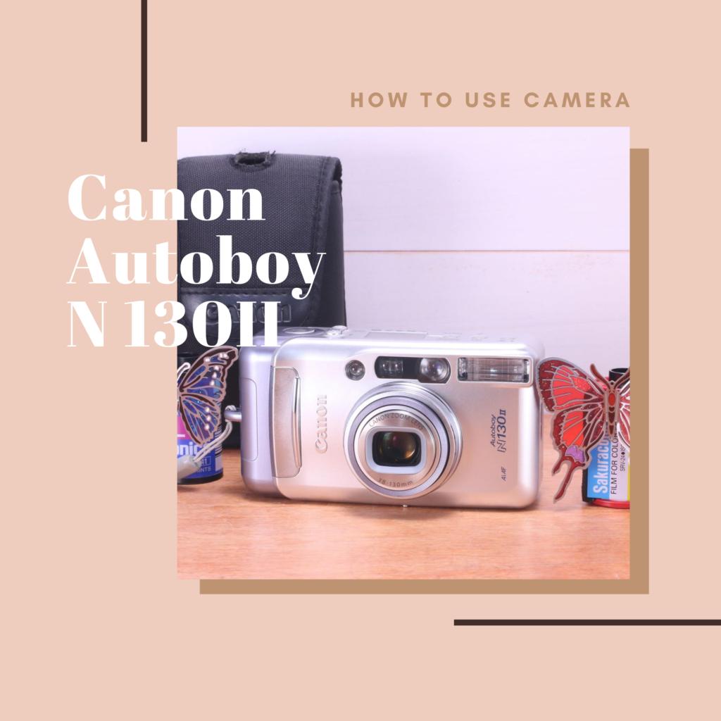 canon autoboy n130 II