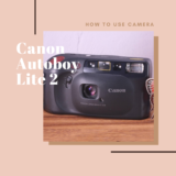 Canon Autoboy Lite 2(Sure shot Joy)の使い方