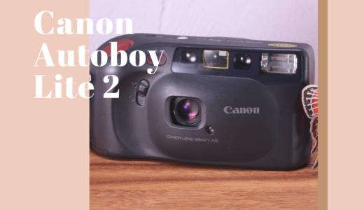 Canon Autoboy Lite 2(Sure shot Joy)の使い方