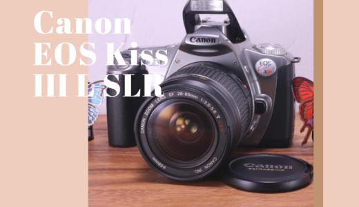 Canon EOS Kiss III L フィルム一眼レフ の使い方