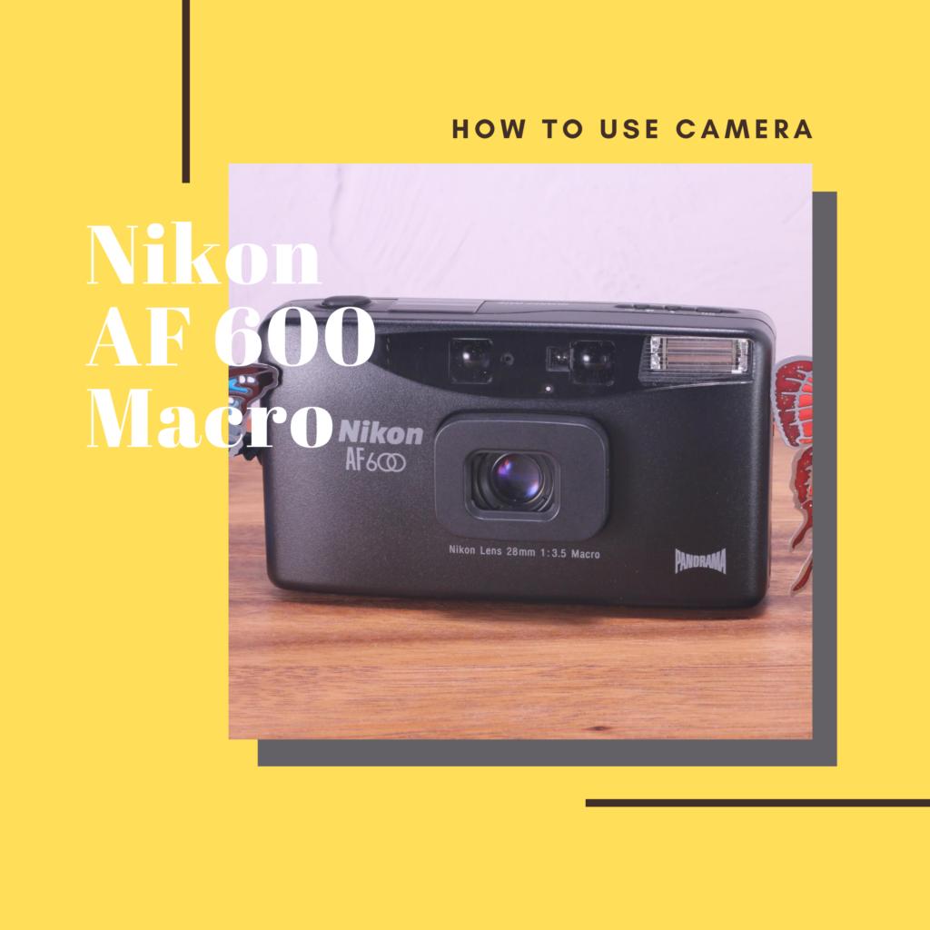 Nikon AF 600 MACRO
