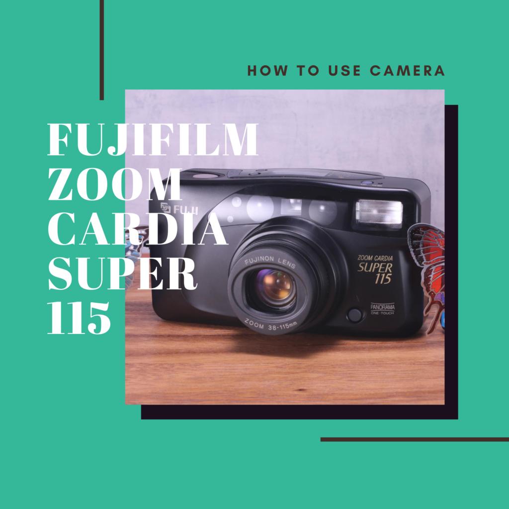 FUJIFILM Zoom CARDIA SUPER 115
