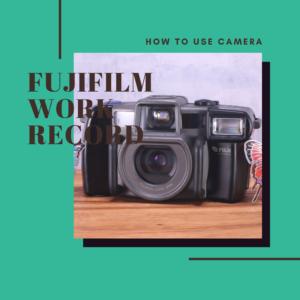 FUJIFILM WORK RECORD