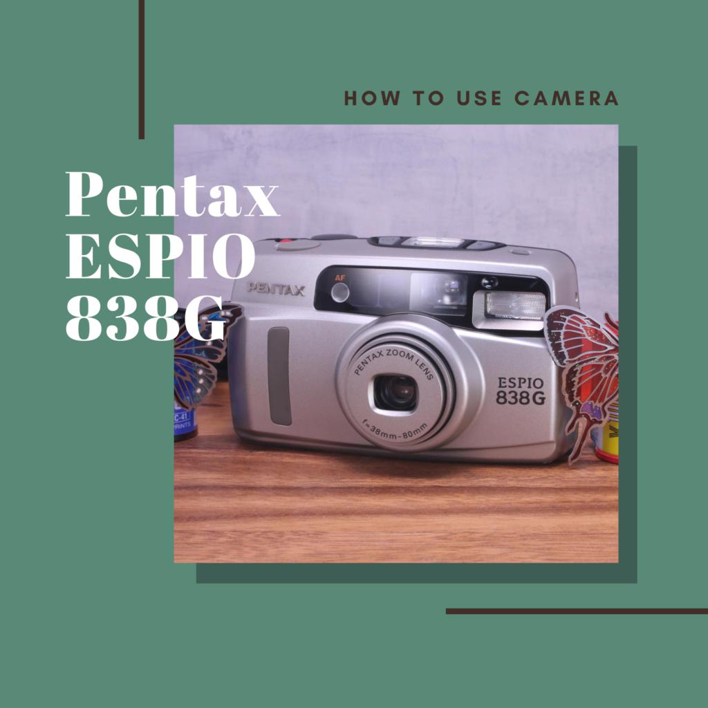 Pentax ESPIO 838G