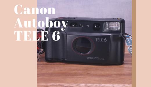 Canon Autoboy TELE 6 の使い方