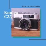 Konica C35 の使い方