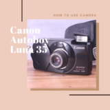 Canon Autoboy Luna 35 の使い方